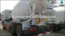 sinotruck lowest price 336hp concrete mixer truck