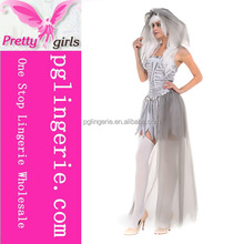 Wholesale Halloween Costume Sexy Gray Bride Costume Online