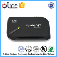 New Released DDRIII 1GB satellite tv box internet r89 tv box DVB-T2 android tv box