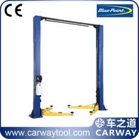 Blue Point 2 post auto lift 4 tons American standard cheap car lift