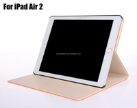 Wholesale For iPad Air 2 PU Leather Case,For iPad 6 Tablet Cover
