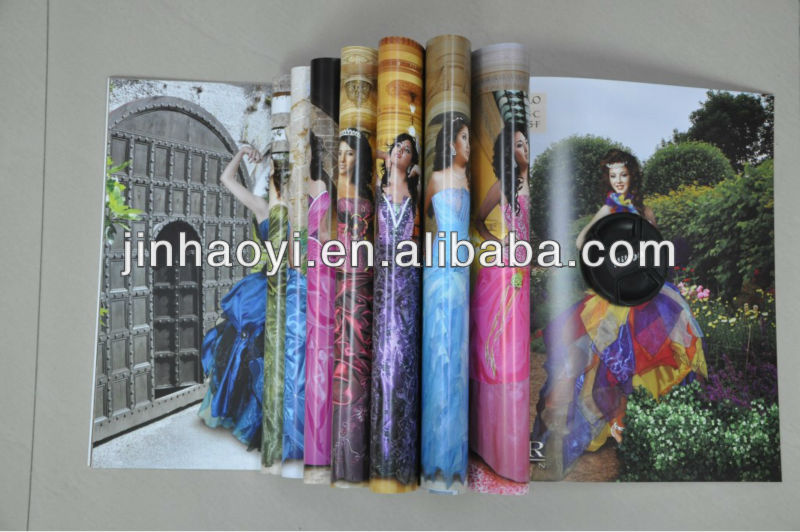 coupon unique folded booklet printing in china,product catalog brochure printing