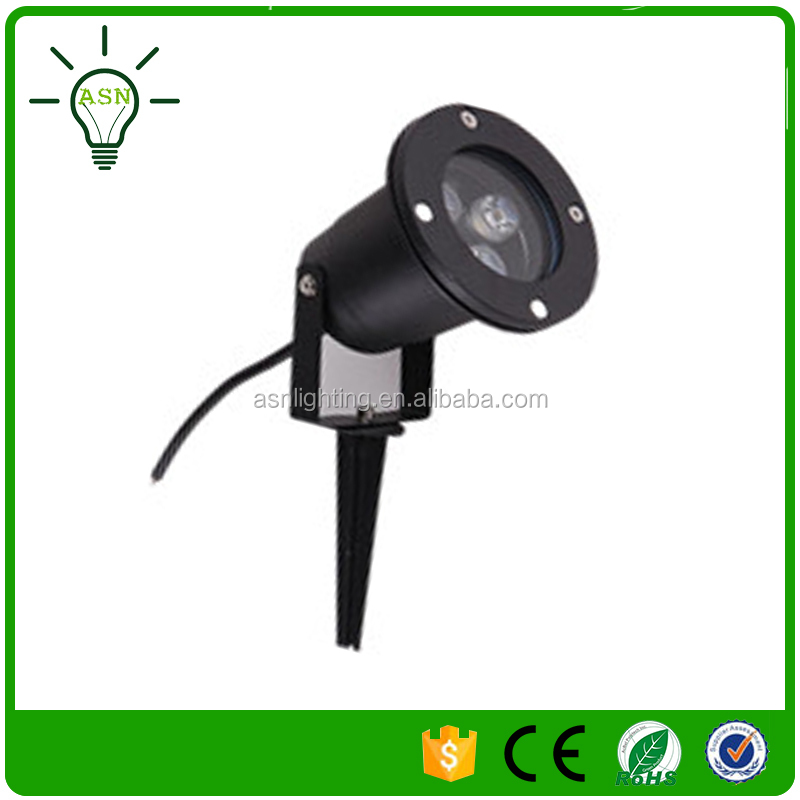 3w 12v out floor low voltage landscape lighting tree led lamp