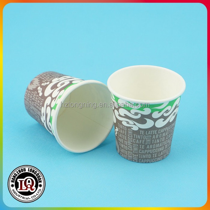 Disposable Beverage Use and Single Wall Small Tasting Cups