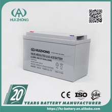CONTAINER PRICE! maintenance free deep cycle battery 12V 100AH VRLA AGM batteries