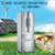 solar DC 12V/24V combi fridge freezer SR-288K4