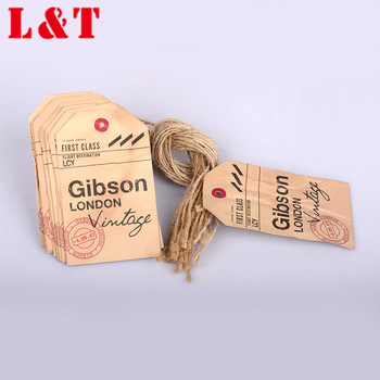 Hot Selling Supply Brand Twine Wax Cord String Seal Hang Tags