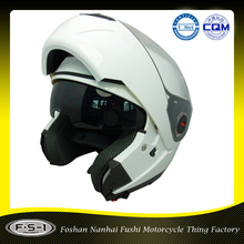 Best deals white color ABS Full Face Helmet Type and ECE Certification off road helmets motor cross