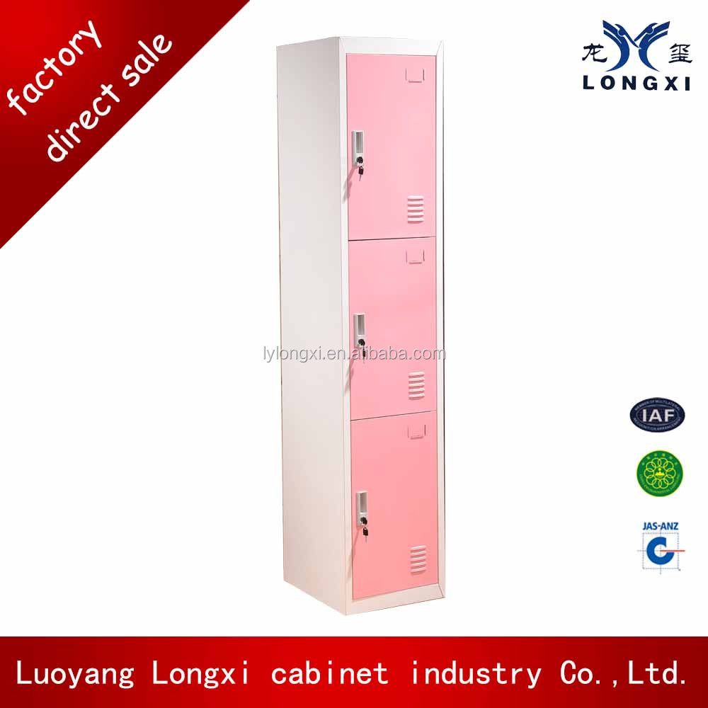 CE certified Electroni clock steel lockers for hospital changing room