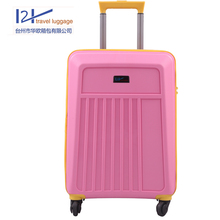 hot sell colorful fashion travel trolley ready luggage for leisure
