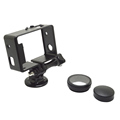 High quality gopros Frame Set for Heros 4 /3+/3, with Lens Covers