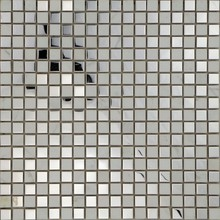 Stainless Steel mix Crystal Glass Mosaic Tiles MFS-054