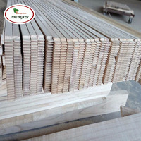 Heze Supply High Quality Paulownia Solid Wood Paulownia Finger Jointed Board for Door Frame