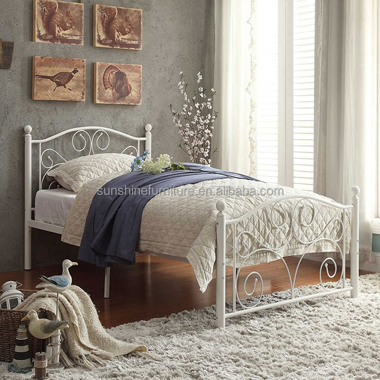 Metal Iron Queen Size Bed Dimensions