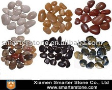 Natural Colorful Polished River Cobble&Pebble Stone