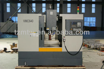 HIGH PRECISION CNC MILLING MACHINE AND MACHINING CENTER VMC640