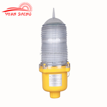Red LED Based Low Intensity aviation obstruction light/aircraft warning light for GSM , telecom tower, mast, post and pole
