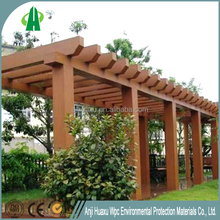20178253 waterproof composite wood cheap price wpc pergola