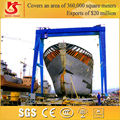 Big tonne! 700t lifting boat gantry crane for dockyard