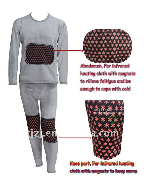 New style Far infrared coral velvet mens thermal underwear