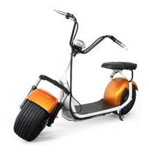 2017 RUNSCOOTERS hot sell 18*9.5 seev/woqu YIDE citycoco scooter 2 seats battery remove electric motorcycle