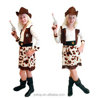 Halloween Costumes for children Western Cowboy Stage & Dance Performance Wear