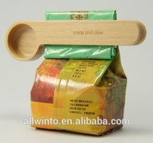 Wholesale Wooden Coffee Scoop Clip With Good Quality
