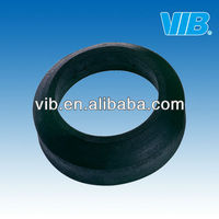 Toilet rubber gasket for toilet tank plumbing flush system fitting for sealing