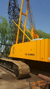Japan high quality used LS238RH 100 ton crawler crane for sale with cheap price