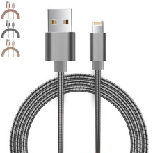Micro USB Metal Spring Shield Cord, 2A Quick Charge Cable for Android Galaxy S7 Edge/S6/S5/S4, HTC,LG,Tablet