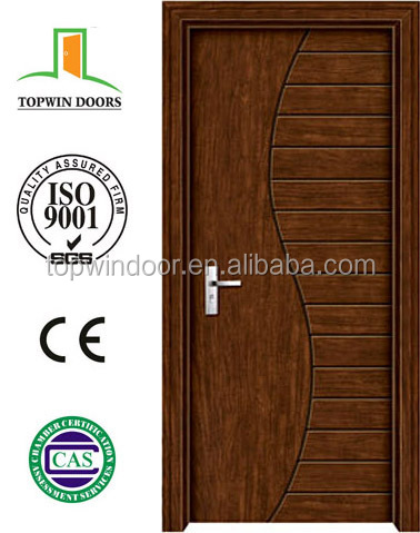 puertas de madera de PVC Entrance Door Home Carving Door