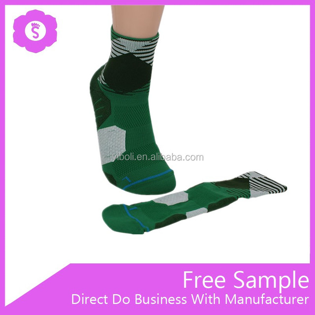 New design ankle fuzzy green clour matching knitting sport socks