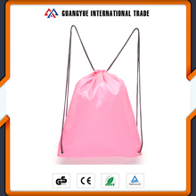 Guangyue Alibaba China Cheap Custom Printed Logo 210T Polyester Drawstring Gym Bags