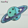 man planet sequin applique patch for clothes WEFB-288
