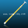Adjustable high voltage fiberglass triangle hot stick