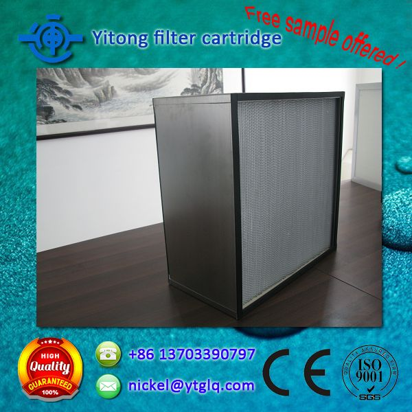 New design pleated bag filter with low price