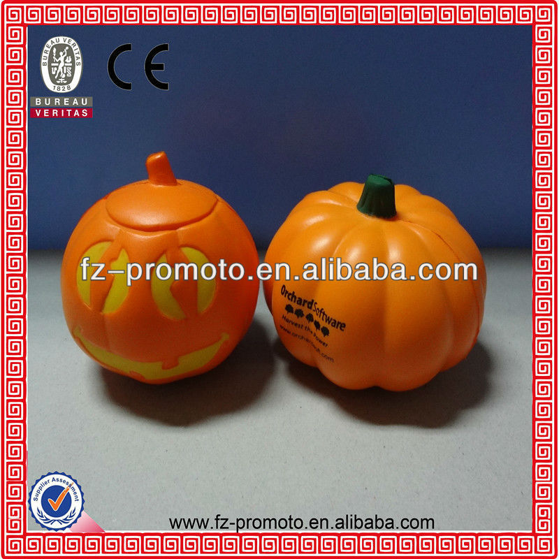 halloween pumpkin toys PU ball halloween pumpkin