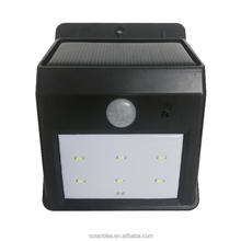 High power waterproof energy panel systems outdoor mounting led solar wall light