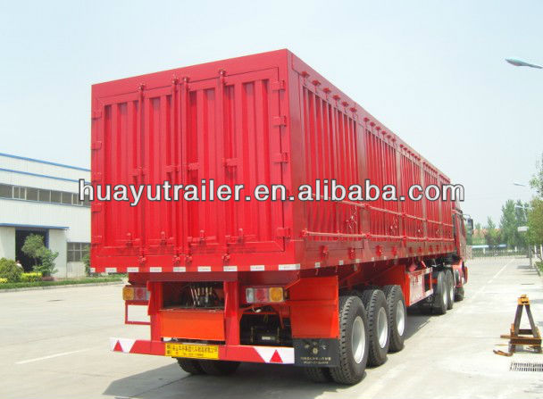 3 axle hydraulic dump trailer-dumper lorry series