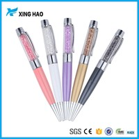2016 Best sale crystal metal ball pen 2g 4g 8g 16 g usb pen drive with logo print