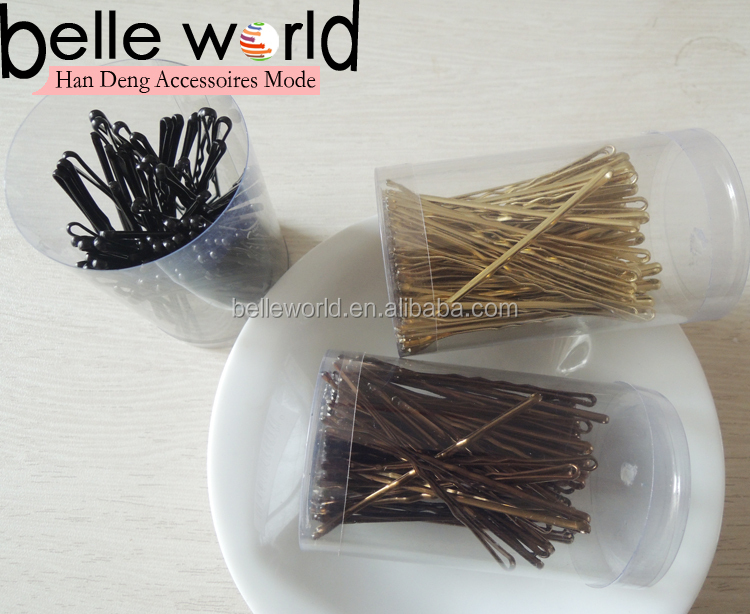 100pcs package bobby pins/bobby pin hair clips for salon