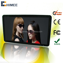 Smart wall mount HD wifi internet 32 inch android mirror lcd advertising player
