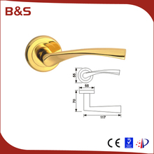 China factory price security mortise stainless steel hotel door lock with rosette 50mm