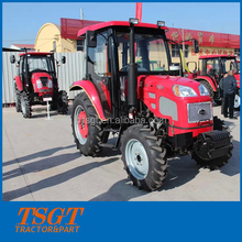 best quality and newest model flat floor 50hp 4wd farm wheel tractor with hydraulic system and three point linkage