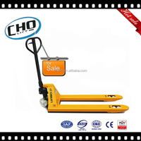 CE/ISO/TUV 2T Pallet Jack, Customized Rubber Wheels Pallet Lift
