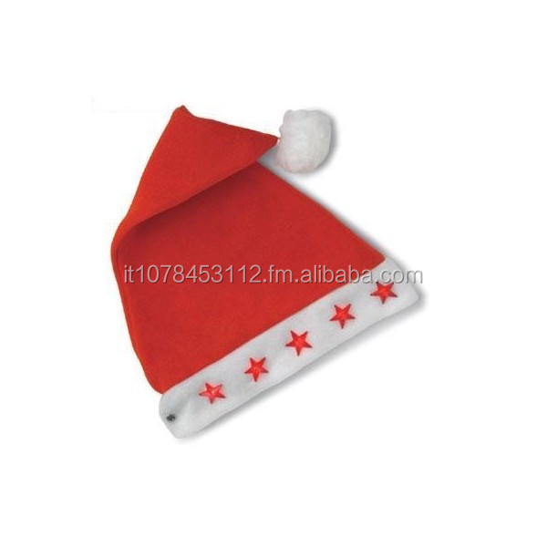 Santa Claus Hat with star light