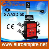 auto garage equipment 3d 4 wheel alignment/wheel alignment machine price from China manufacture