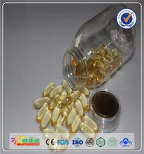 food grade squalene raw fish oil softgel