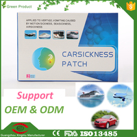 Happy travel carsickness patch