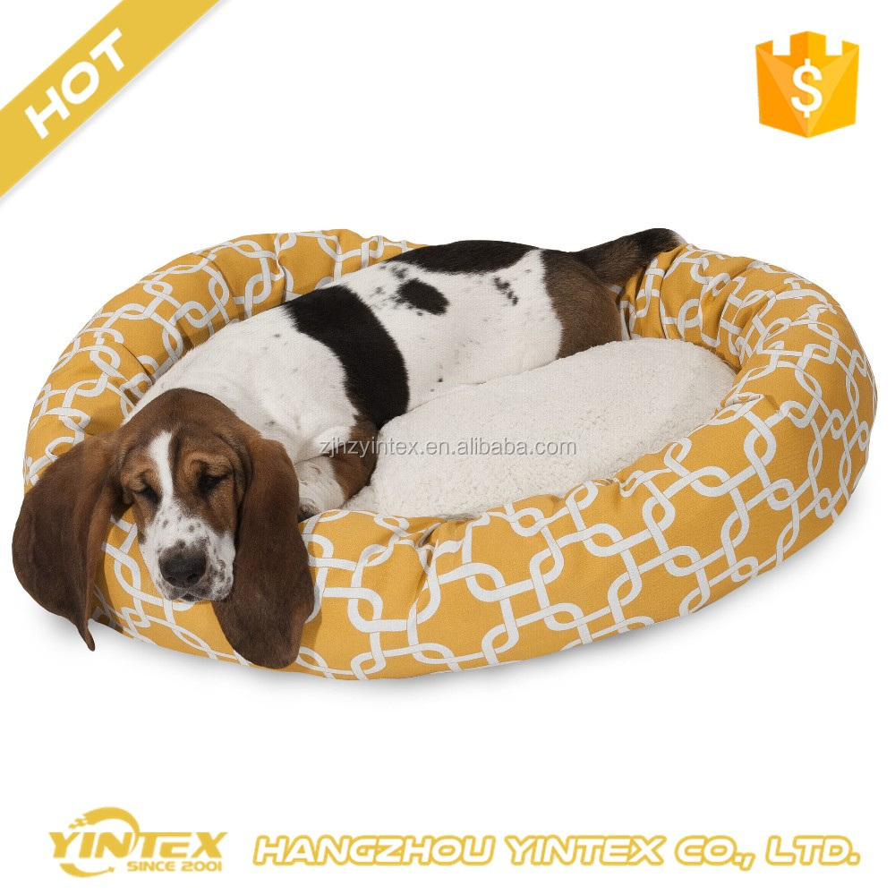 Hot sale cheap ultra soft washable removable hypoallergenic orthopedic factory directly price luxury pet dog